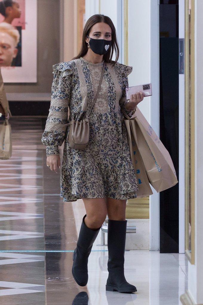 La actriz está llevando muy bien su segundo embarazo