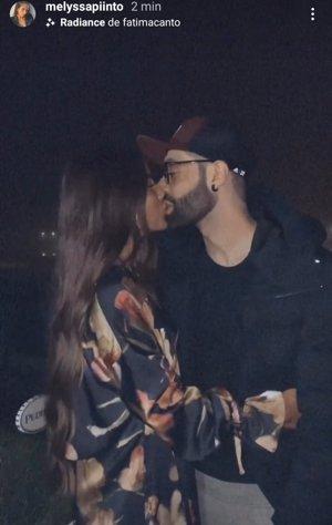 Melyssa cuelga, por primera vez, una imagen junto a su nuevo novio