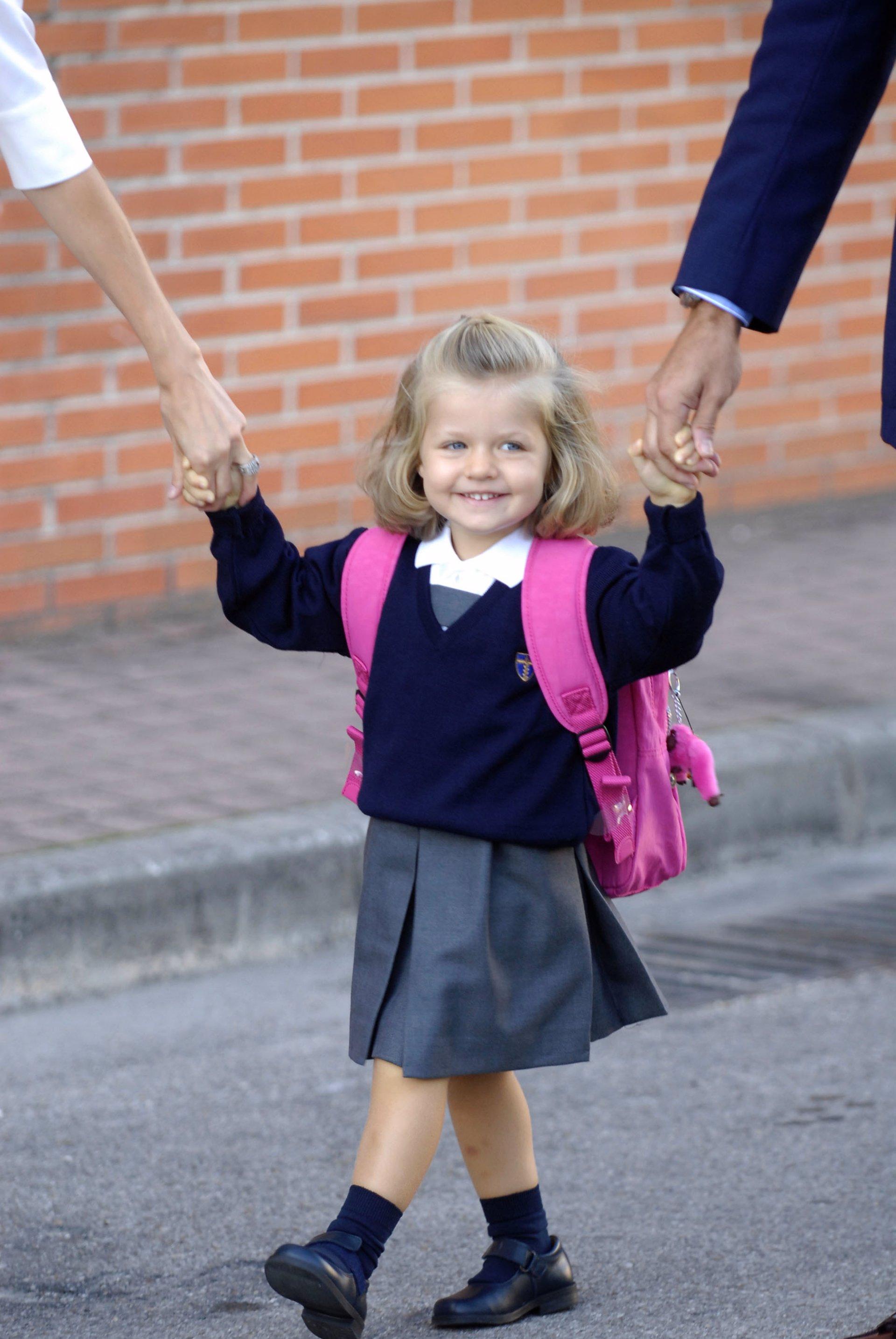 Leonor empieza el colegio