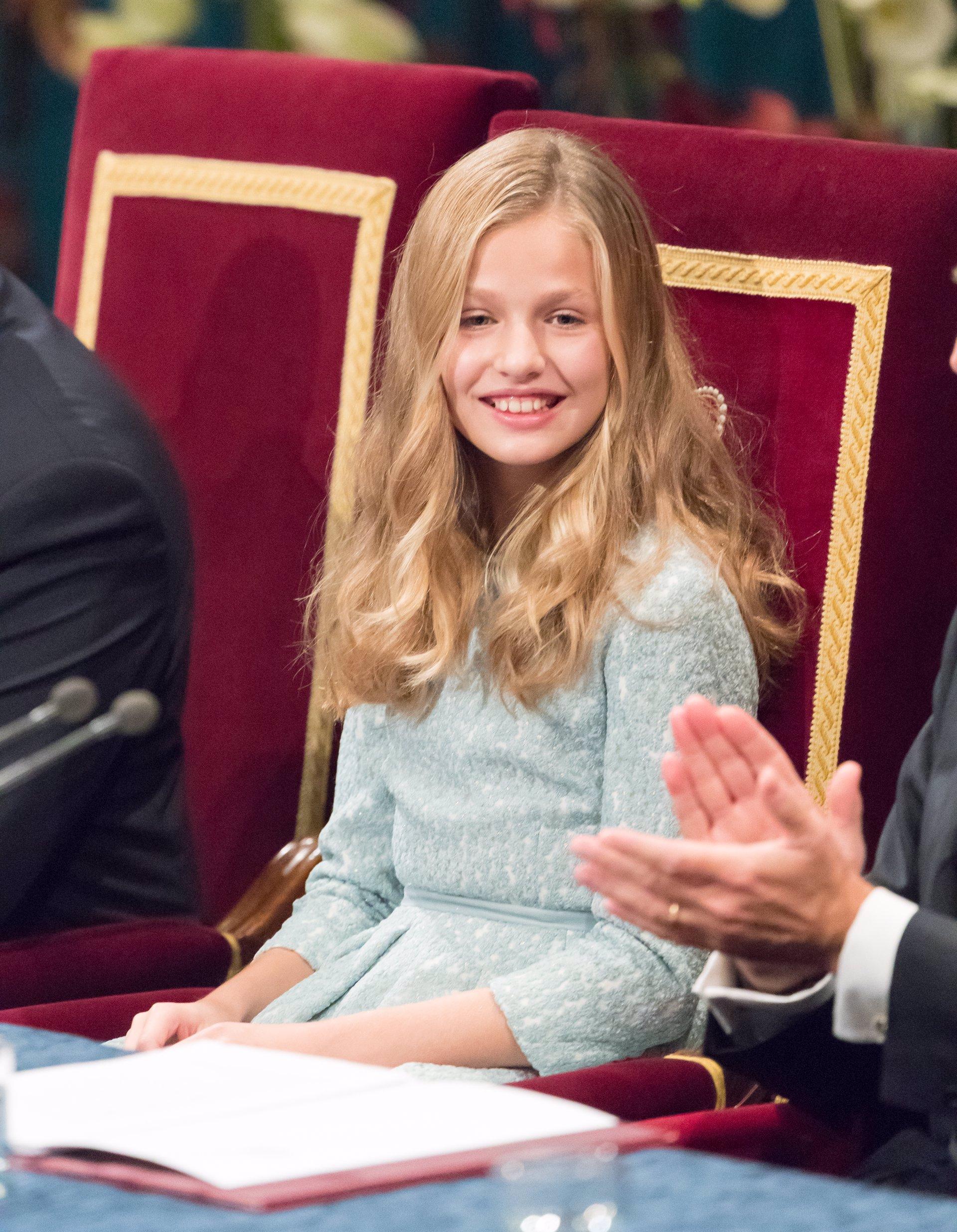 Leonor en los Premios Princesa de Asturias