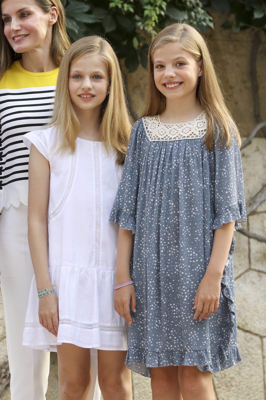 Leonor y Sofía en Palma