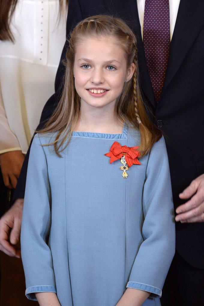 Enero 2018. Imposición del Toisón de Oro a la Princesa de Asturias