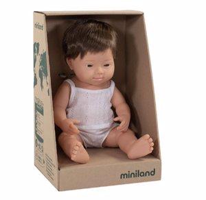 Colección muñecos Síndrome de Down de Miniland