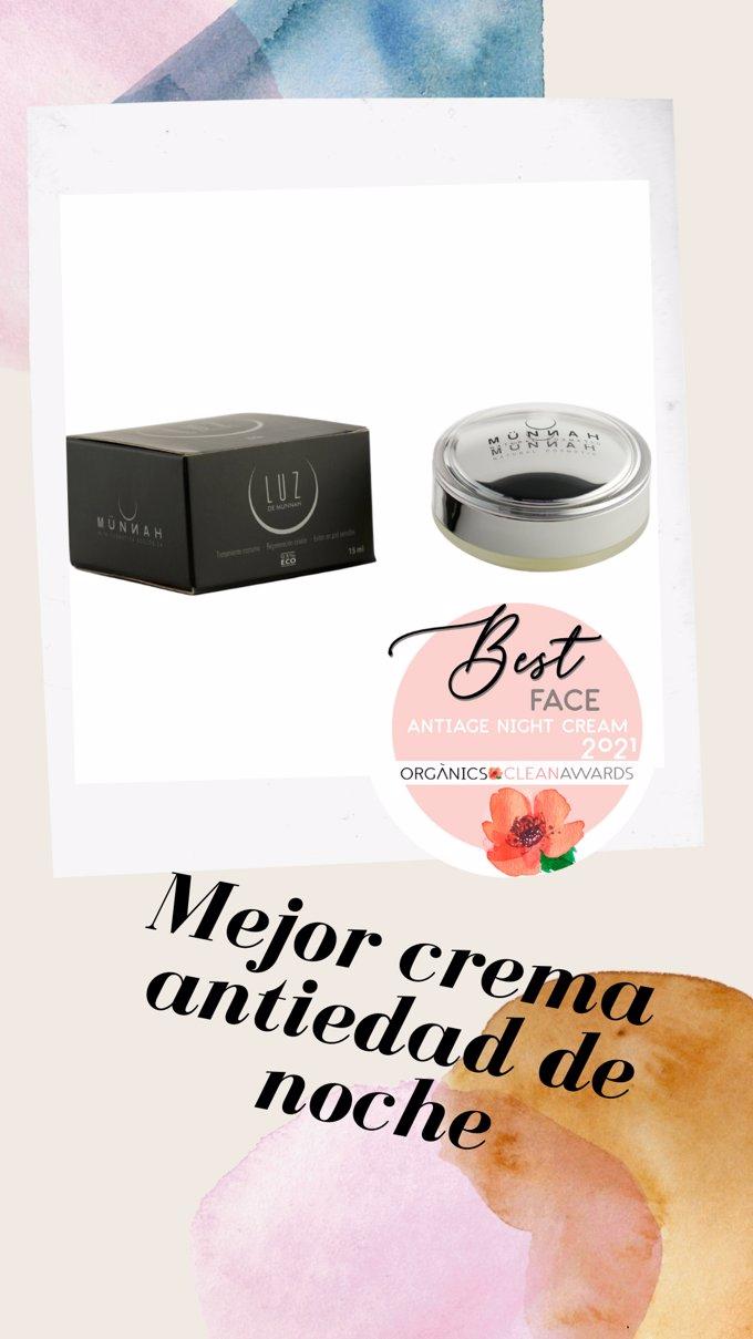 Mejor Crema antiaging de Münnah