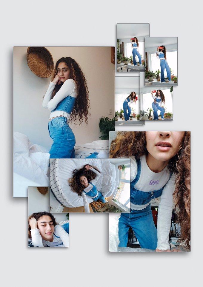 El denim es el protagonista de la colaboración de Lee y H&M