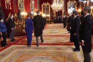 Los Reyes han recibido al cuerpo diplomático acreditado en España