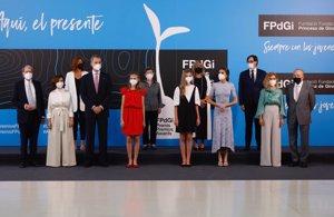 La Familia Real ha presidido la entrega de los Premios Princesa Fundación de Girona