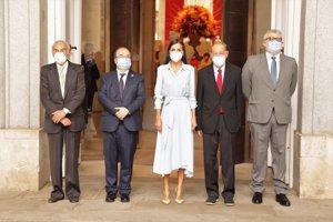 La Reina ha presidido la inauguración de una exposición en el Museo del Prado