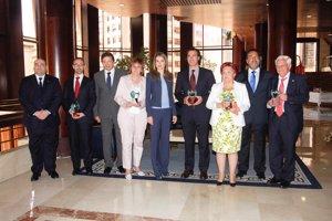 EP: Doña Letizia junto a los galardonados