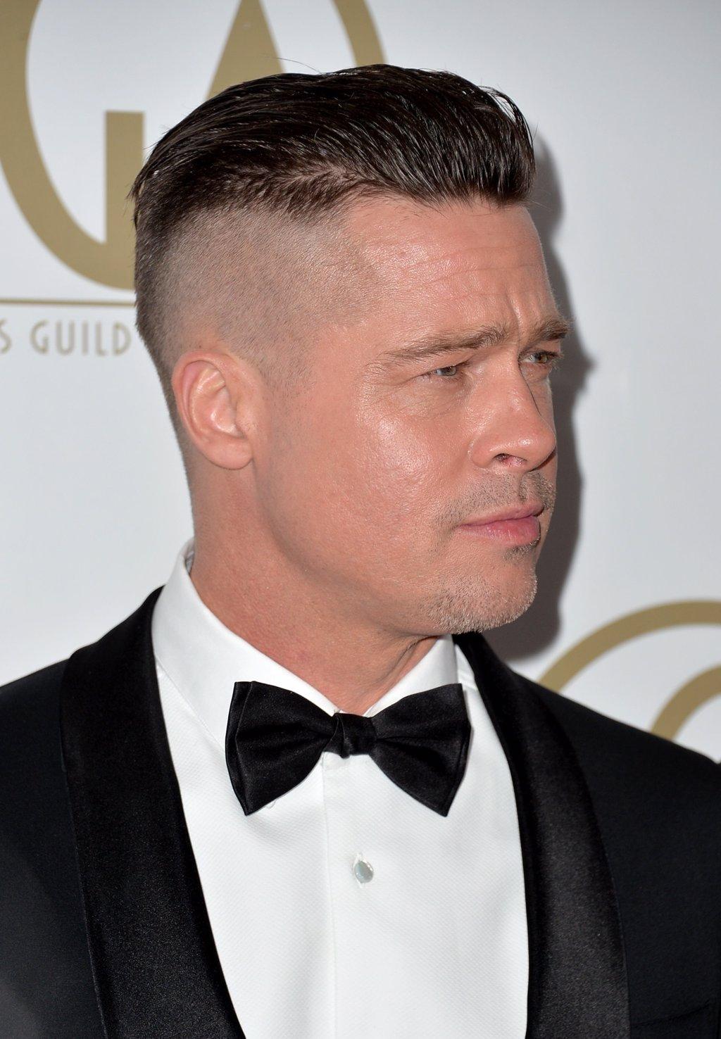 Espectacular brad pitt peinados Colección De Cortes De Pelo Tendencias - Brad Pitt: Nuevo corte de pelo para su nueva película ...
