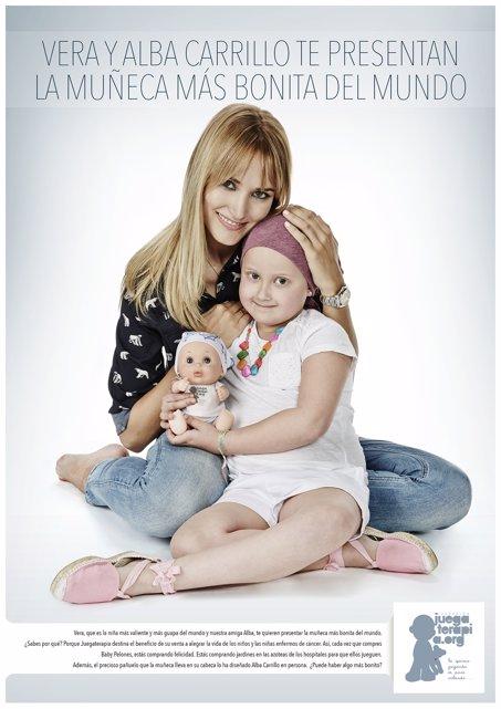Baby Pelones muñeco juegoterapia Alba Carrillo