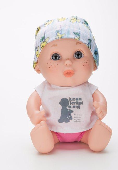 Baby pelones, pelón muñeco muñeca María juegoterapia
