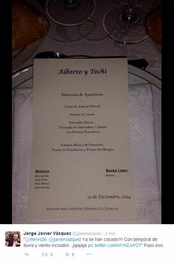 menu boda alberto y techi