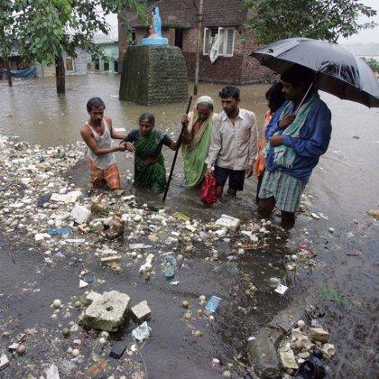 Las lluvias monzónicas extremas aumentaron en la segunda mitad del s.XX y seguirán así por el cambio climático