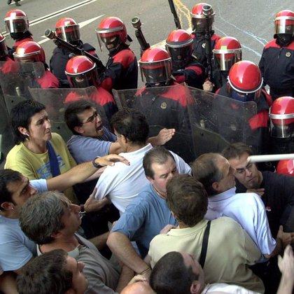 Alrededor de 200 personas se manifiestan en Bilbao contra la sentencia del TS sobre el caso Jarrai