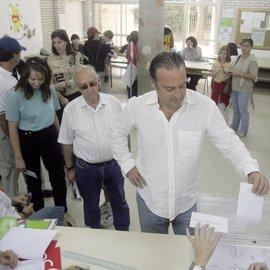 La participación en el referéndum del estatuto en Andalucía a las 18.00 horas se eleva al 28,75%