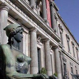 Vista de lado del Museo Nacional Arqueológico