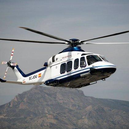 Más de 21.700 personas utilizaron la línea regular en helicóptero entre Ceuta y Málaga en 2007