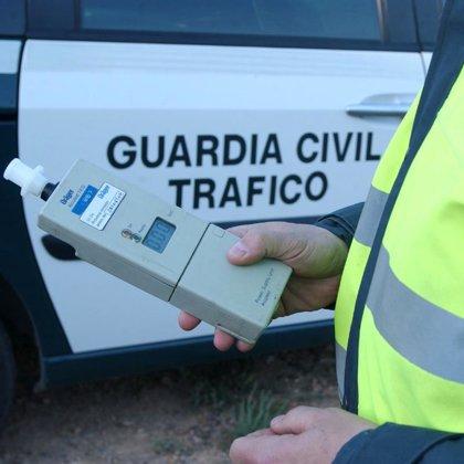 Detenidas 5 personas en la provincia de Cáceres por conducir con una tasa de alcohol superior a la permitida