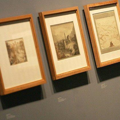 El Círculo de Bellas Artes acoge la primera exposición de dibujos de Goethe fuera de Alemania