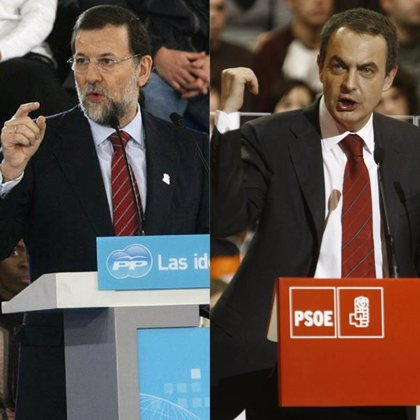 """Zapatero y Rajoy visitan laSexta y Antena 3 con """"resaca"""" de debate"""