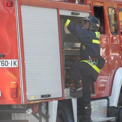 Un escape de gas en el barrio de Poblenou de Barcelona provoca un fuego de ocho metros de altura