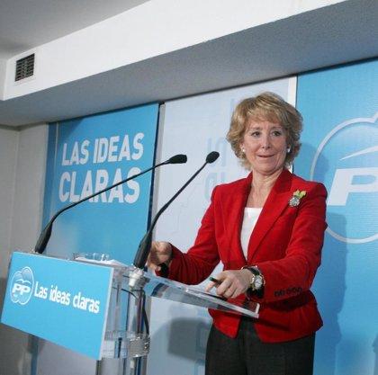 """Aguirre cree que con Zapatero """"se acrecienta la quiebra"""" del espíritu de concordia de la Transición"""