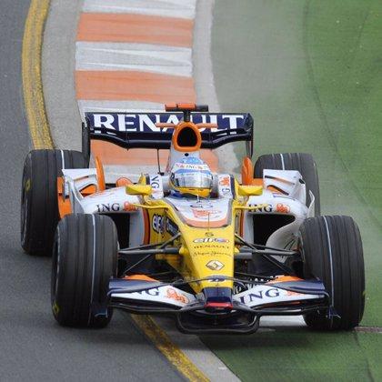 Raikkonen y Hamilton dominan con un Alonso lejos de los mejores tiempos