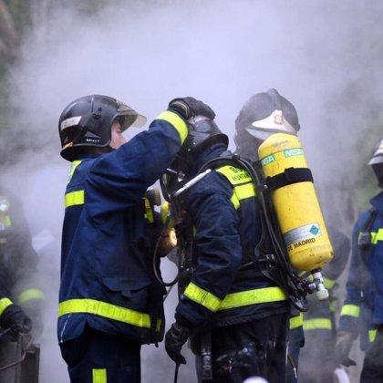 Muere una persona calcinada en Alcalá de Henares (Madrid) tras un incendio