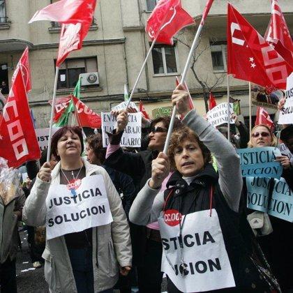 El 93,9 por ciento de los funcionarios de Justicia en los órganos centrales votan a favor de continuar la huelga