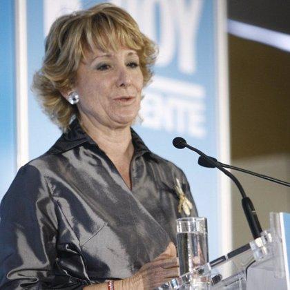 Aguirre se reunirá con Camps a petición de éste en Madrid el próximo 21 de abril