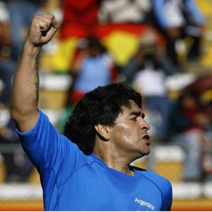 Maradona será el primer portador de la antorcha olímpica en Buenos Aires