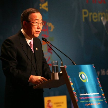 Ban Ki Moon no asistirá a la ceremonia de apertura de los Juegos Olímpicos de Beijing