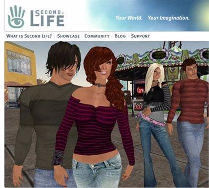 Replicantes en 'Second Life'