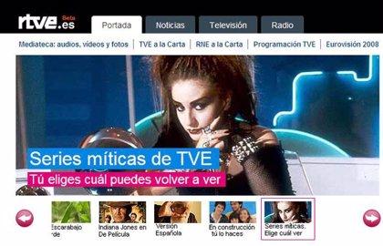 La nueva web de RTVE ofrece ya capítulos de 'series míticas'