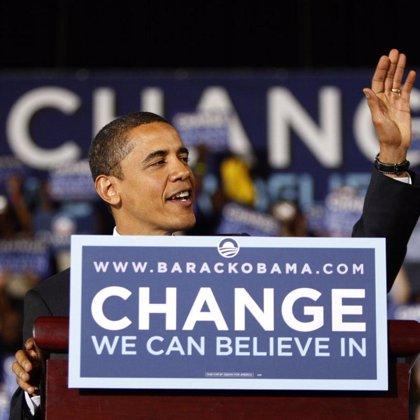 Obama hace historia y se convierte en el primer candidato negro a la presidencia de Estados Unidos
