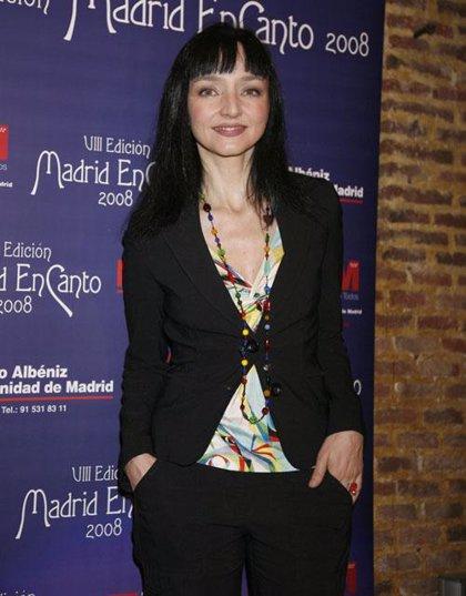 María de Medeiros presenta en Madrid su disco, 'A little more blue', un tributo a la música brasileña
