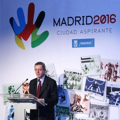 """Gallardón: """"Madrid sigue en la carrera olímpica y con más fuerza que nunca en su historia"""""""