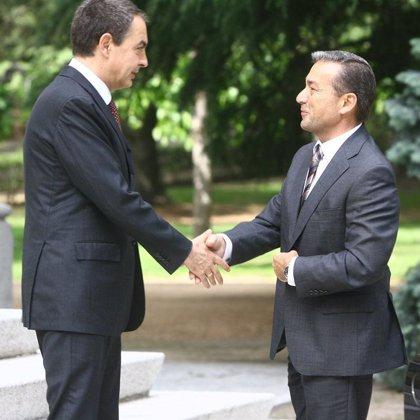 """Zapatero y Rivero """"coinciden"""" en financiación autonómica y en contemplar las """"variables específicas"""" canarias"""