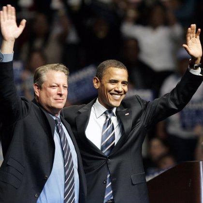 Al Gore anuncia que apoya a Obama