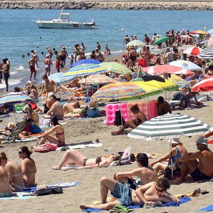 Los chicos europeos tienen mayor riesgo ante el sol que las mujeres