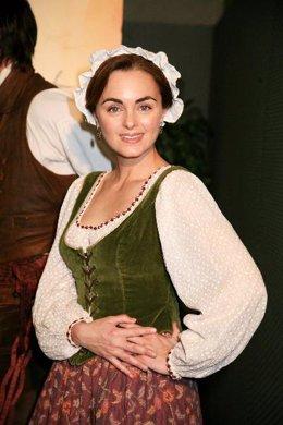 La actriz Carmen Morales.