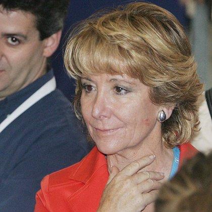 """Aguirre afirma que los votantes del PP están """"desconcertados"""" con un continuo viaje al centro"""