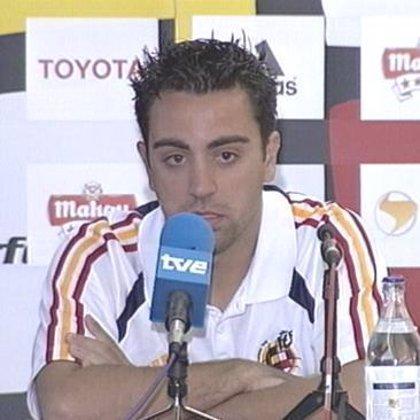 """Xavi: """"El MVP es un premio a mi trayectoria, pero he tenido los compañeros idóneos para practicar mi fútbol"""""""