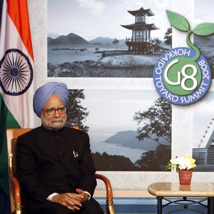 India y China no apoyan el acuerdo de los G8 para reducir a la mitad las emisiones de gas con efecto invernadero