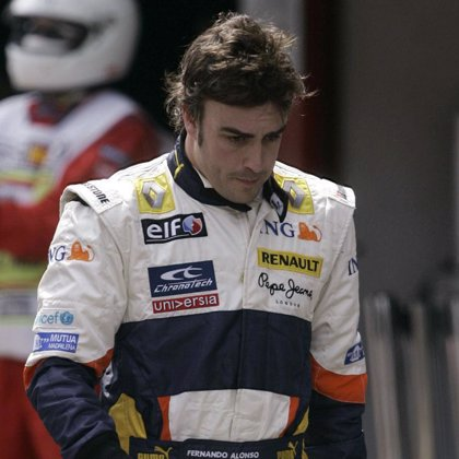 Alonso (Renault) mejora y termina cuarto en la última sesión de entrenamientos libres
