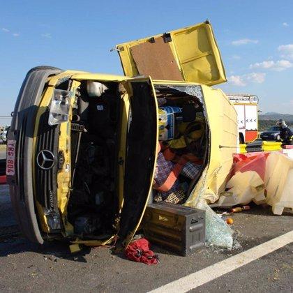 Un total de 20 personas mueren en las carreteras españolas durante el fin de semana