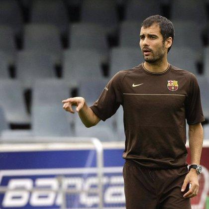 El nuevo Barça de Guardiola juega mañana ante el Hibernian escocés su primer partido de la pretemporada