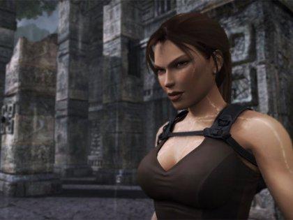 Allison Carroll, una atractiva gimnasta, es la nueva imagen de Lara Croft