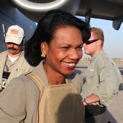 Rice regresa hoy a Oriente Próximo para reactivar el proceso de paz entre israelíes y palestinos